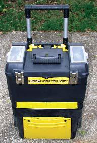 A Stanley Work Center Becomes An E-Power Field Box