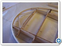 1/16-square wing tip bracing is added to support the tip bow between the front and read main spars.