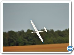 The ASK Glider in flight