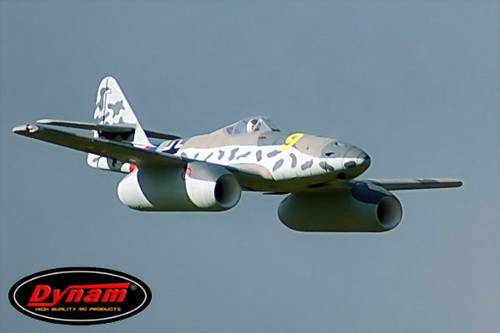Dynam RC 6 Channel Messerschmitt ME-262 1500mm Twin 70mm EDF