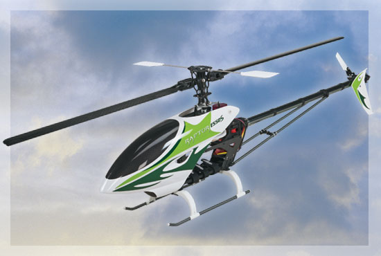 Create Your Own Nirvana with the New Thunder Tiger Raptor E550S Sport Heli ARF