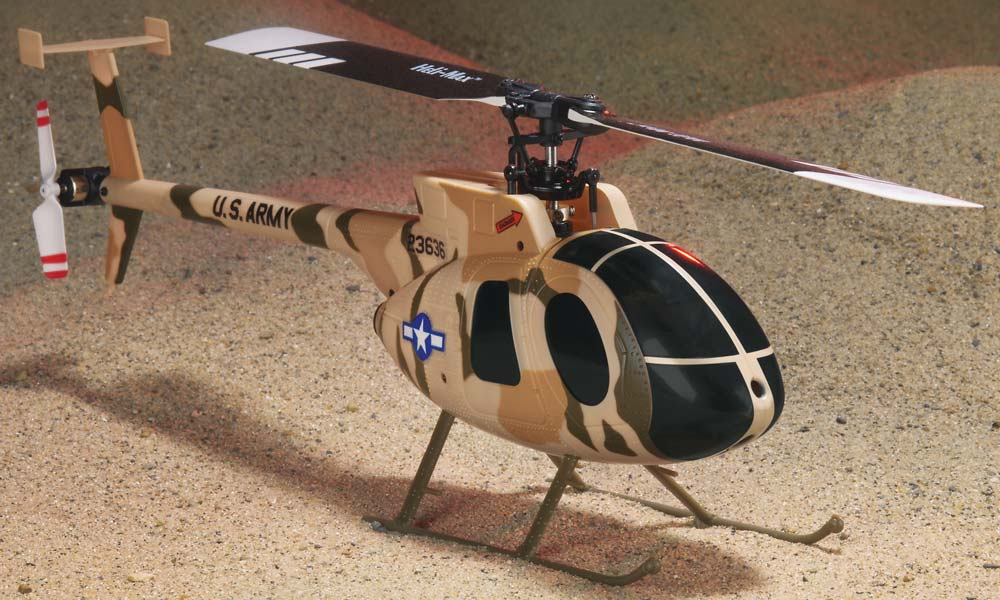 Heli Max Md 530 Flybarless Helicopter
