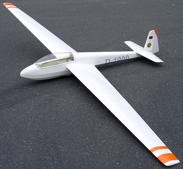 Icare  ASK-13 1/5 Scale Sailplane (3.6M)
