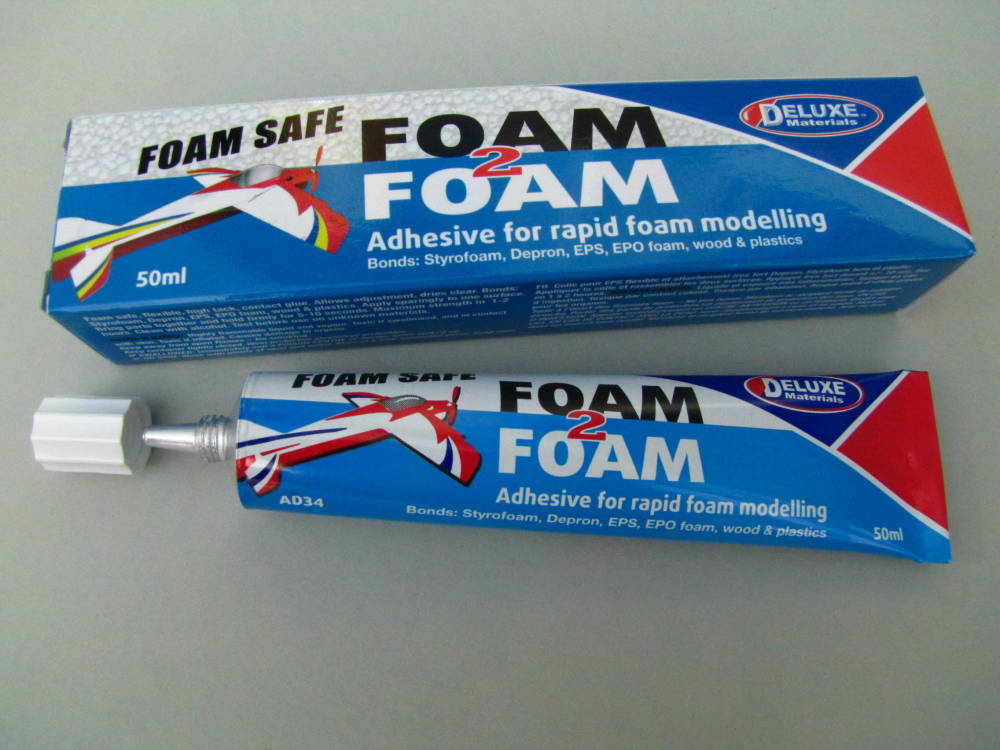 Foam 2 Foam– Flexible Foam Safe Glue for Rapid Foam Modelling