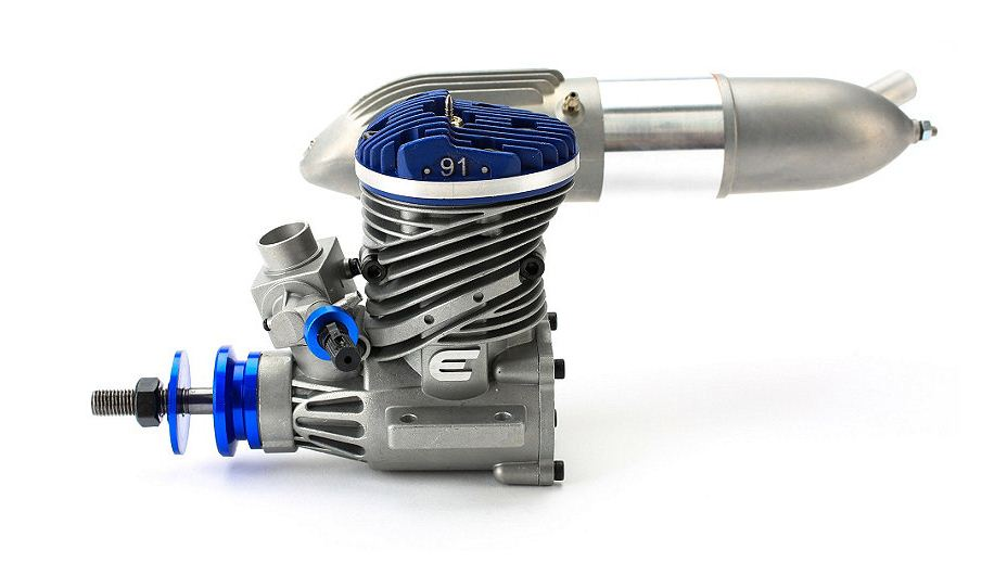 Evolution Engines 91NX Single Cylinder Glow Engine