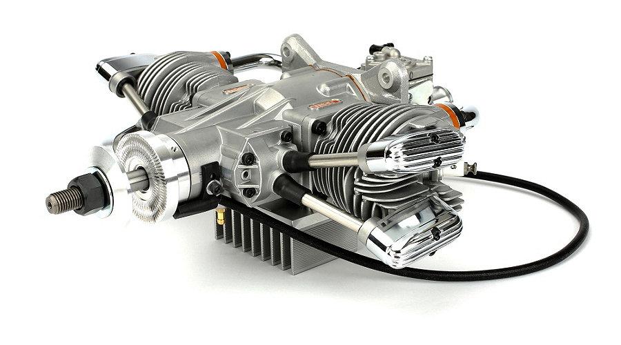 Saito 57cc Twin Cylinder 4-Stroke Gas Engine