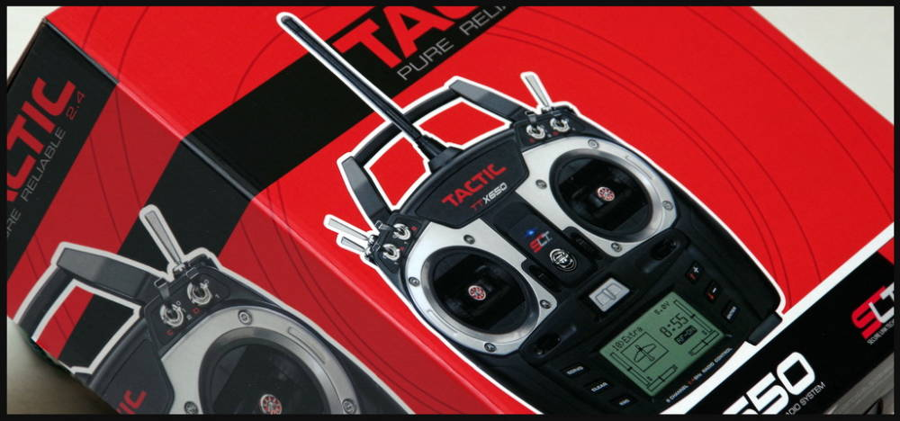 Tactic TTX650 SLT Compatible 2.4GHz Transmitter