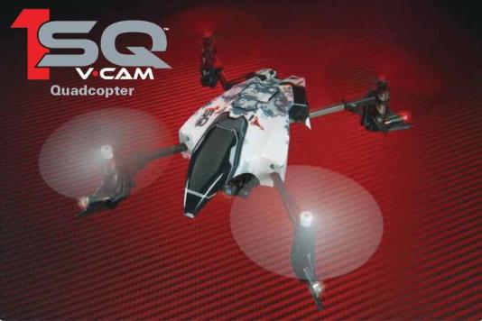 Heli-Max 1SQ V-CAM Quadcopter RTF and TxR