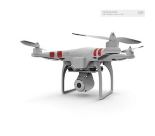 DJI  Phantom Vision,  with Integrated HD Camera