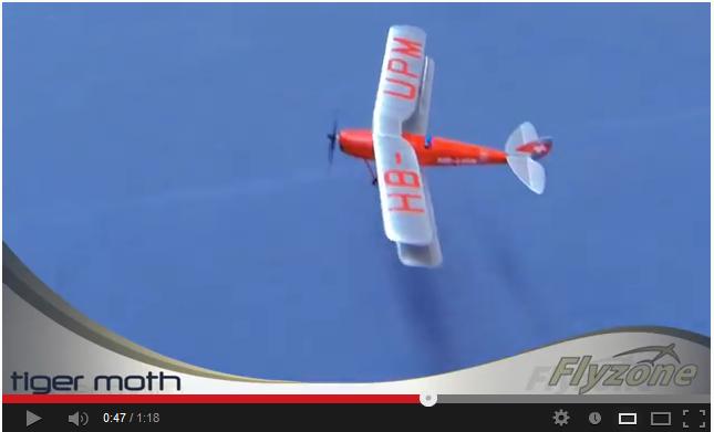 Video: Flyzone Tiger Moth