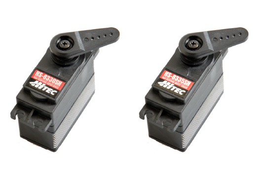 Hitec HS-8330SH and HS-8335SH High Voltage, High Response Steel Gear Digital Servos