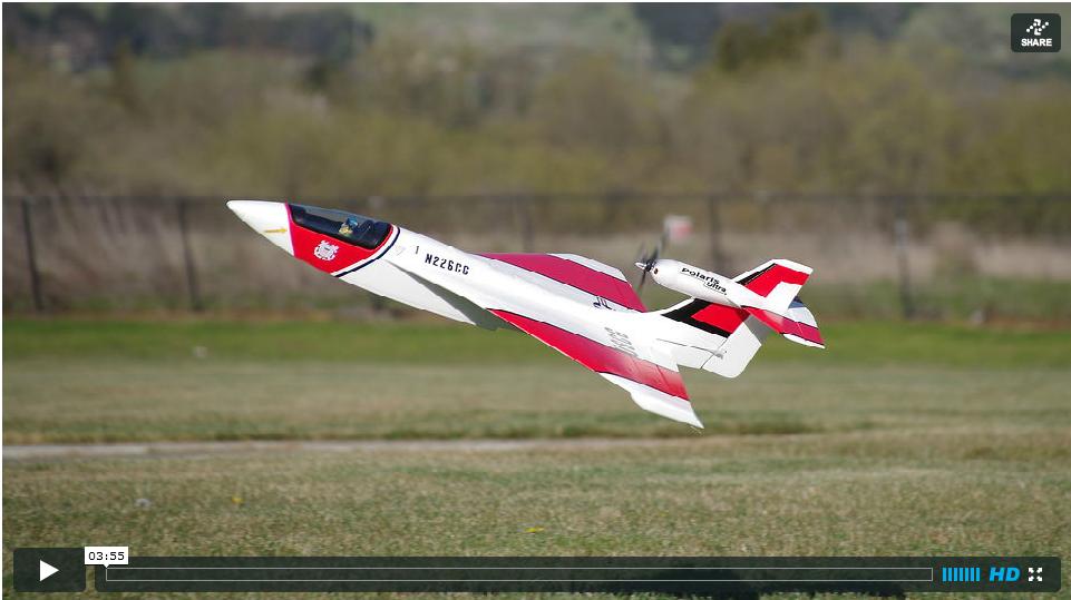 Video: Model Aero's Polaris, Aqua Cat and the New Polaris Ultra ARF