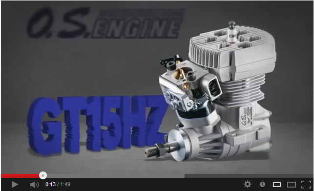 Video: OS Engines GT15HZ
