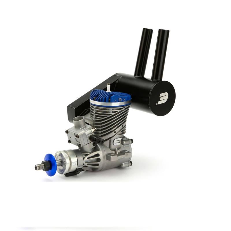 Evolution 20cc (1.20 cu. in.) Gas RC Engine