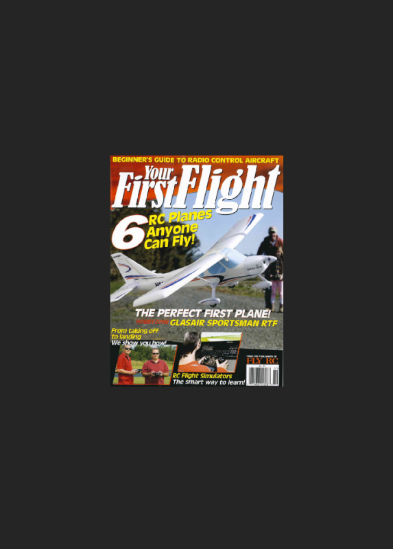 Your First Flight – A Beginners Guide to Radio Control Aircraft