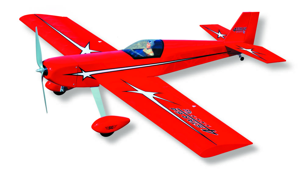 Sig Four Star EG ARF – The Ultimate Second Airplane!