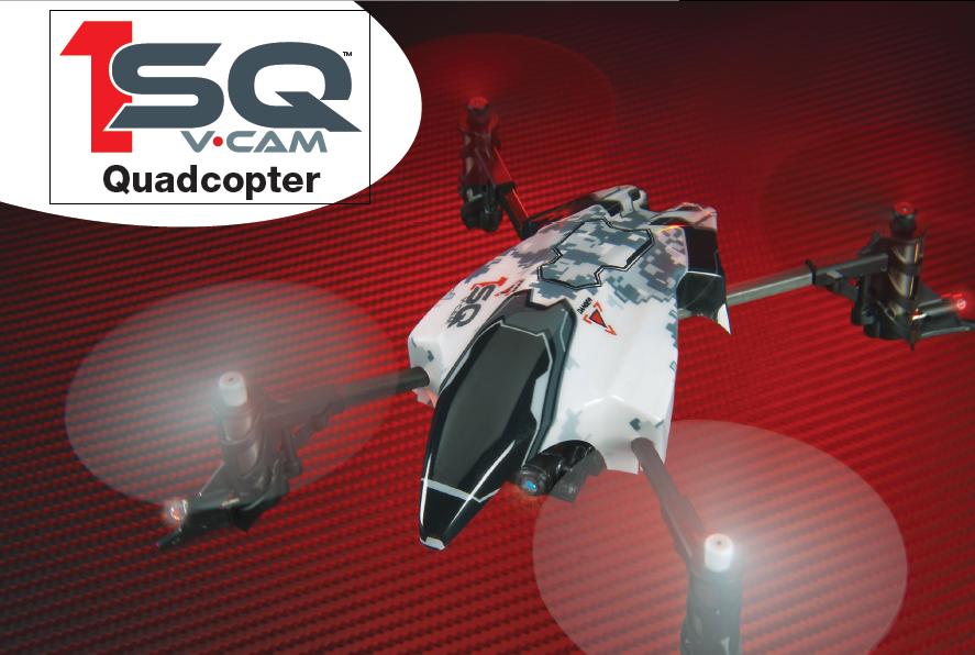 Heli-Max 1SQ V.Cam Quadcopter