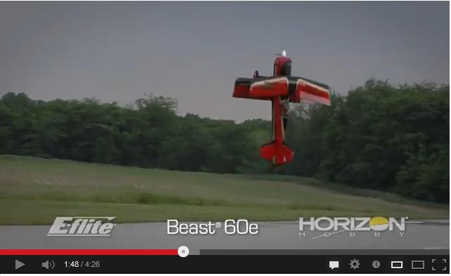 Video: E-Flite Beast 60e ARF