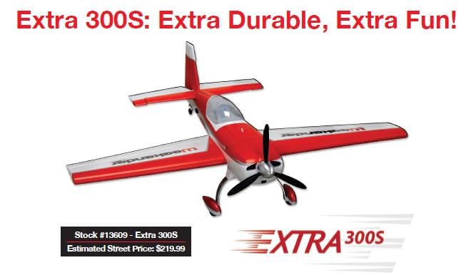 Hitec Extra 300S; Extra Durable, Extra Fun!