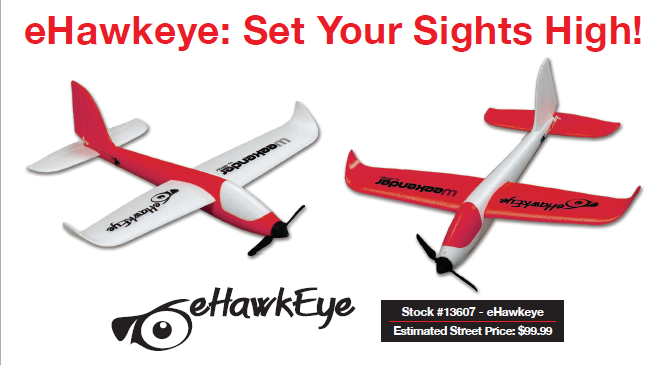 Hitec eHawkeye; Set Your Sights High!