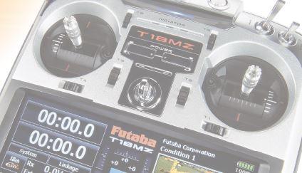 New Futaba 18MZ Software