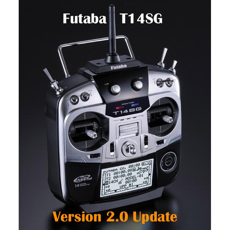 Futaba 14SG V2.0 Firmware Update
