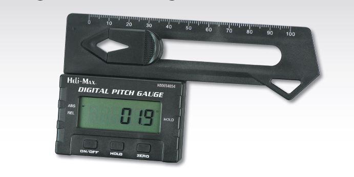 Heli-Max Digital Pitch Gauge