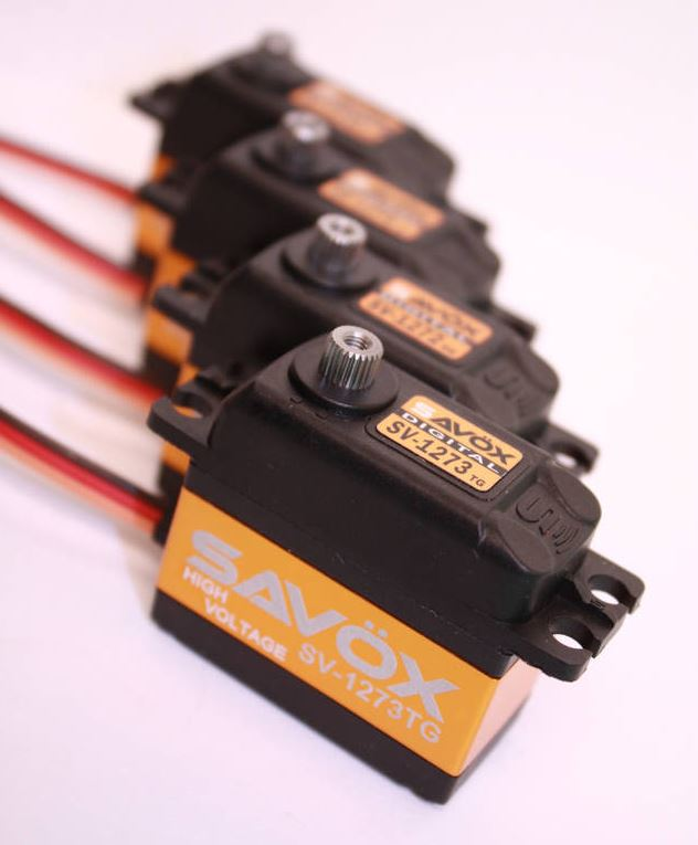 Savöx 1270 Series Servos Dominate!