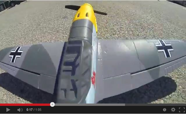 Video: Flyzone AirCore Me 109 Airframe