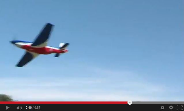 "Video: Flyzone AirCore P-51 ""Miss America"" Airframe"