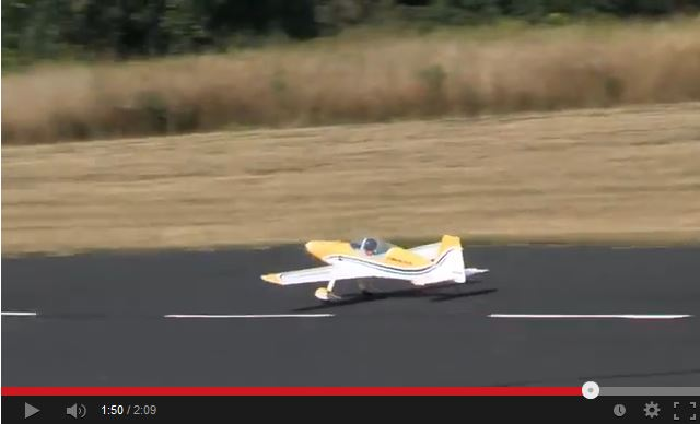 Video: Great Planes F1 Rocket Evo Sport Scale ARF