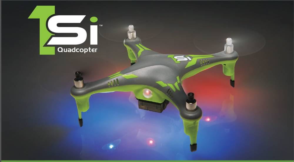 Heli-Max 1Si Quadcopter with Optional Camera