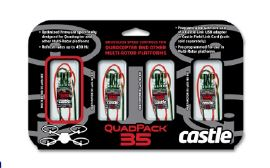 Castle Creations Quad Pack 35