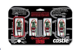Castle Creations Quad Pack 35