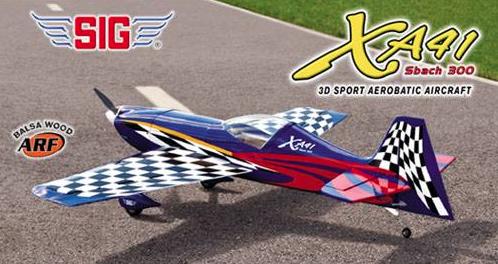 Video – Sig XA41 Sbach 300 ARF