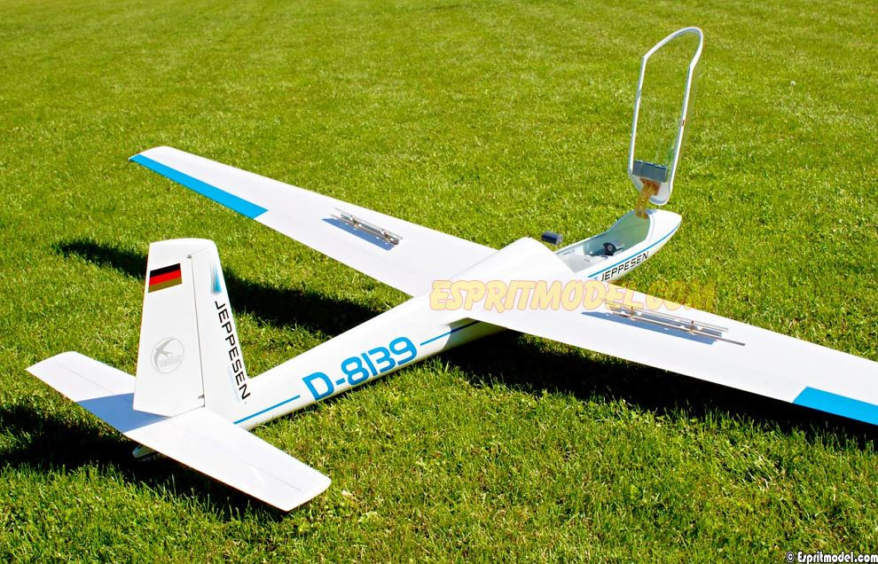 Esprit Model Swift S-1 Sailplane (Blue)