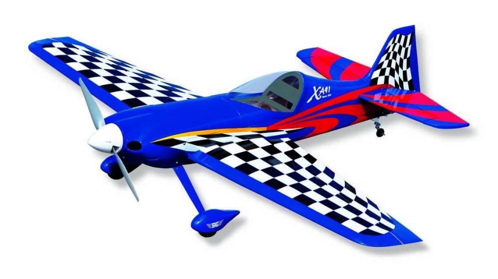 SIG Sbach XA-41 ARF 3D SPORT AEROBATIC AIRPLANE