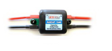 Esprit Models Jeti High Voltage Capacitor Module AddCap