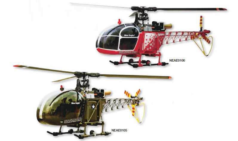 Nine Eagles Solo Pro 290 Lama Scale Helicopters