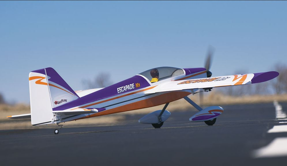 Great Planes Escapade MX ARF .46 to .55 Sport Plane
