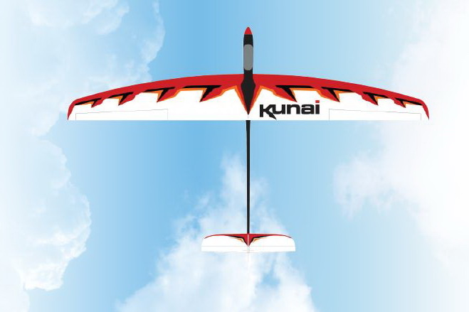 Great Planes Kunai Electric Glider ARF and Rx-R