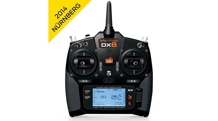 Spektrum DX6 6-Channel System w/AR610 Receiver