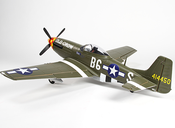 Durafly P-51 Old Crow 1100mm PnF