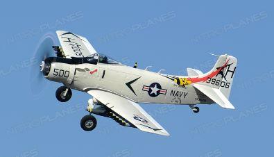 NitroPlanes Airfield 800mm A1 Skyraider ARF