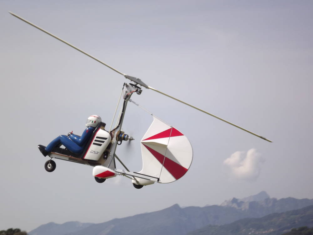 Icare High Performance Autogyro