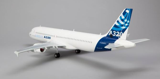 Supreme Hobbies 1100mm AirBus 320 PNP