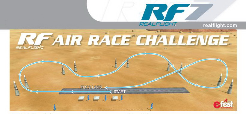 2014 eFest to Feature RealFlight 7 Air Race Challenge!