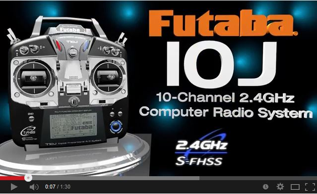 Futaba 10J 2.4GHz Transmitter – Everything from Soup to Nuts!