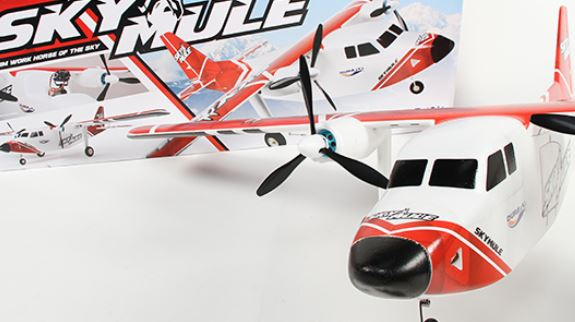 Durafly SkyMule Twin FPV Sports Model EPO 1500mm PNF