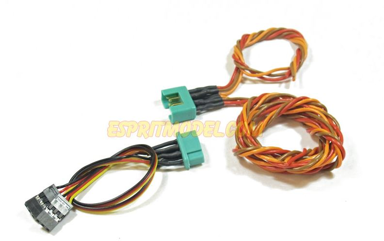Esprit Model Servo Wire Harness Set with Multiplex Style Connectors
